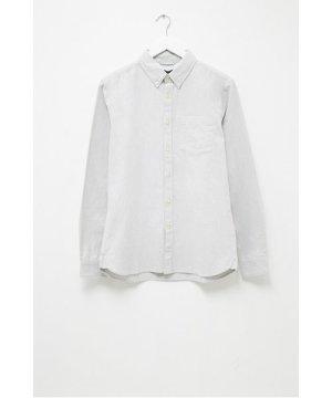 Melange Oxford Shirt - light grey melange