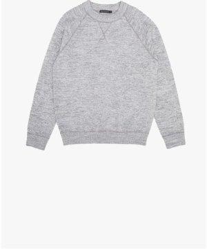 Luxe Sweatshirt - mid grey melange