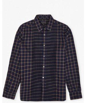 Cash Check Shirt - maritime blue