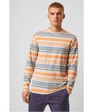 Yura Stripe Long Sleeve T-Shirt - moonmeam grey multi