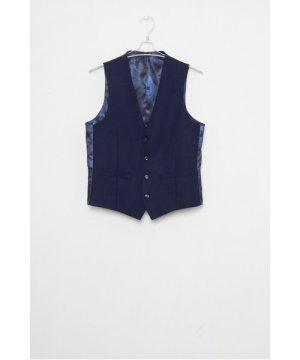 Ink Flannel Suit Waistcoat - ink