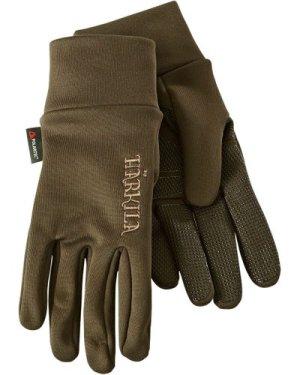 Harkila Unisex Power Liner Gloves Dark Olive XL