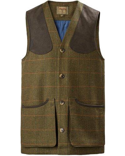 Musto Mens Lightweight Machine Washable Tweed Waistcoat Balmoral Small