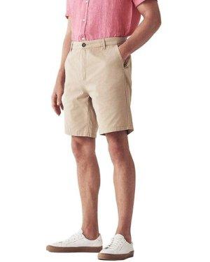 Crew Clothing Mens Bermuda Shorts Stone 34