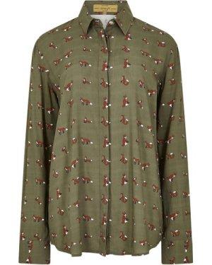 Dubarry Womens Delphine Shirt Dusky Green 18