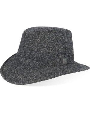 Tilley TW2HT Harris Tweed Hat Charcoal 7 5/8
