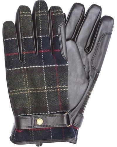 Barbour Mens Newbrough Waterproof Tartan Gloves Classic Tartan XL