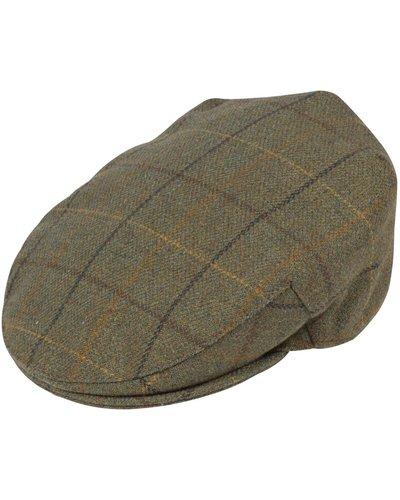 Alan Paine Mens Rutland Cap Dark Moss XL