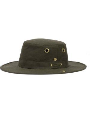 Tilley T3 Medium Brim Snap Up Hat Olive 59cm (7 3/8)