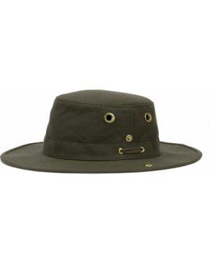 Tilley T3 Medium Brim Snap Up Hat Burgundy 7 1/4