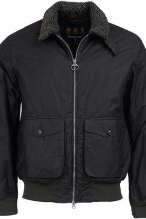 Barbour Mens Goosall Wax Jacket Sage XXL