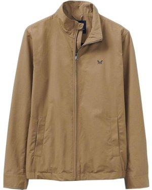 Crew Clothing Mens Harrington Jacket Tan XXL