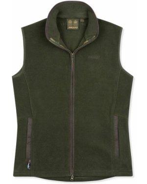 Musto Mens Glemsford Polartec Fleece Gilet Dark Moss XL