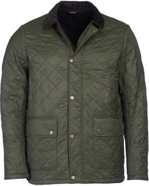 Barbour Mens Denill Polar Fleece Jacket Olive Large