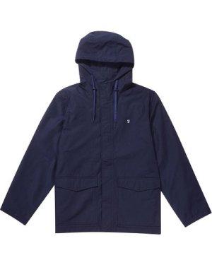 Farah Mens Higgs Hooded Coat True Navy XL