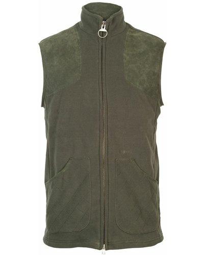 Barbour Mens Dunmoor Fleece Gilet Olive XL