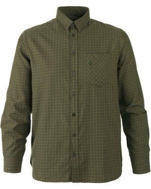 Seeland Mens Clayton Shirt Ivy Green Check Small