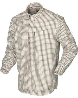 Harkila Mens Stornoway Active Shirt Red Check XL