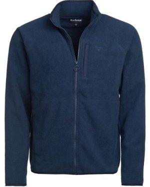Barbour Mens Essential Fleece Zip Through Navy XL