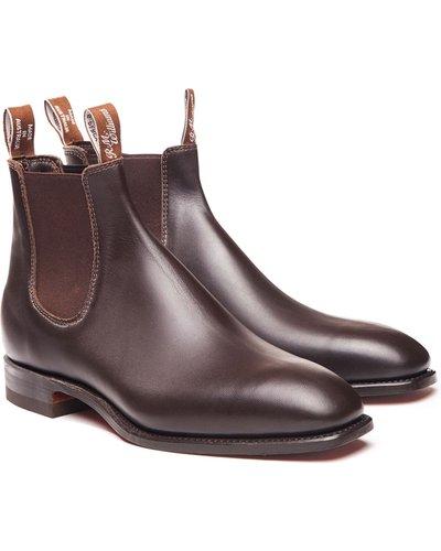 R.M. Williams Mens Comfort Craftsman Boots Chestnut 9.5 (EU43.5)