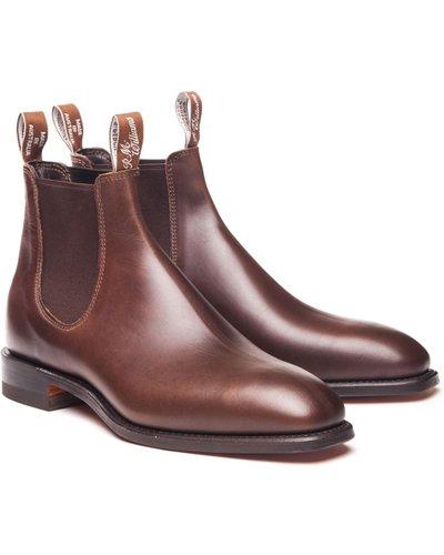 R.M. Williams Mens Comfort Craftsman Boots Rum 10 (EU44)