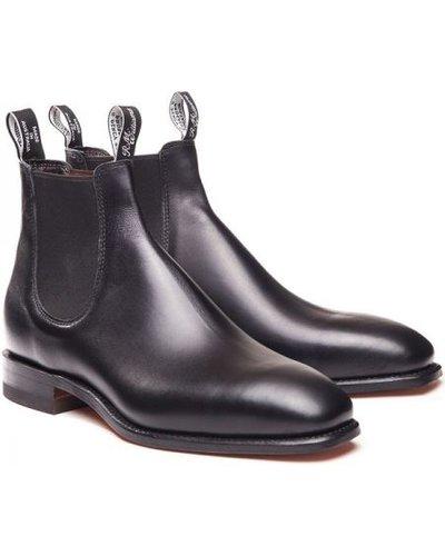 R.M. Williams Mens Craftsman Boots Black 11 (EU46)