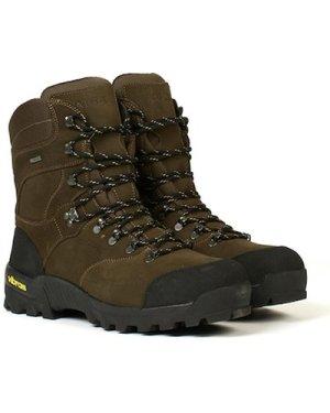 Aigle Mens Altavio Hi GTX Boots Sepia/Black 7.5 (EU41)