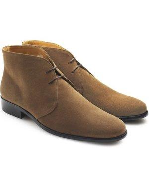 Fairfax & Favor Mens Desert Boot Tan Suede 7 (EU41)