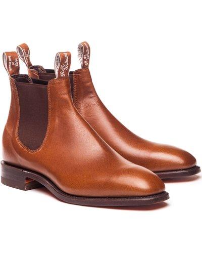 R.M. Williams Mens Kangaroo Comfort Craftsman Boots Tanbark 10 (EU44)