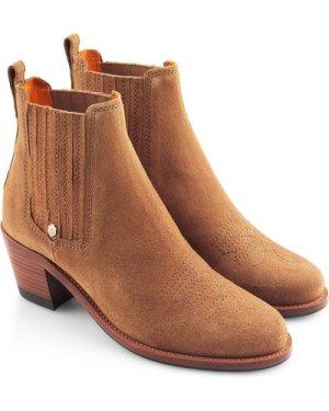 Fairfax & Favor Womens Rockingham Ankle Boot Tan 7.5 (EU41)