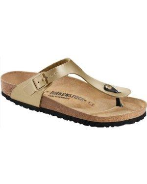 Birkenstock Womens Gizeh BS Sandals Gold UK5 (EU38)