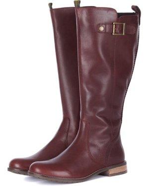 Barbour Womens Rebecca Boots Bordeaux 6 (EU39)
