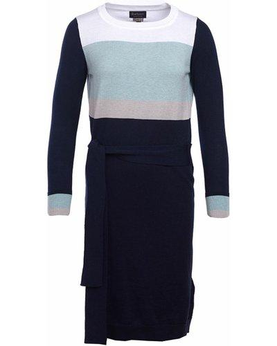Barbour Womens Deveron Dress Navy 12