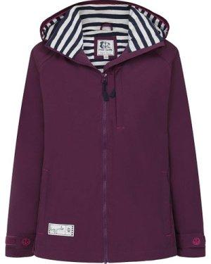 Lazy Jacks Womens LJ45 Waterproof Jacket Deep Purple Large