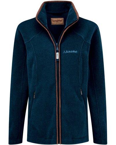 Schoffel Womens Burley Fleece Jacket Kingfisher 18
