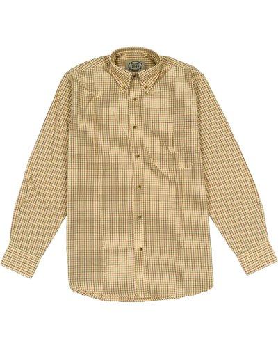 Heritage Mens 1845 Grafton Shirt Ochre Large