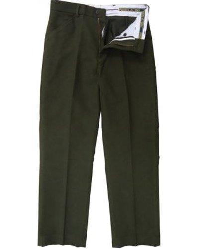 Heritage 1845 Mens Moleskin Trousers Olive 38