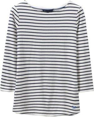 Crew Clothing Womens Essential Breton White/Navy 14