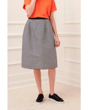 Bella Breton Stripe Skirt