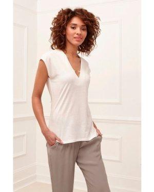 Featherweight Jersey V-Neck T-Shirt