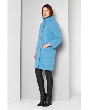 Manor Wool Funnel Neck Coat