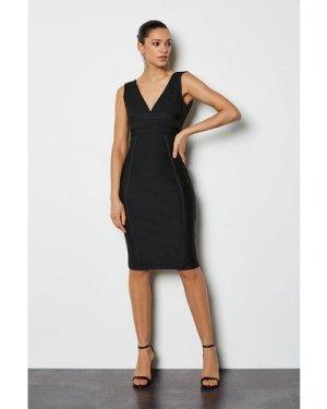 Karen Millen Sleeveless Bandage Dress -, Black