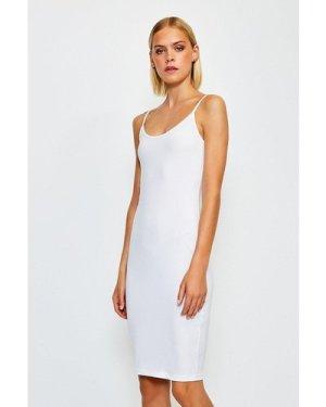 Karen Millen Smoothing Essentials Strappy Slip Dress -, White