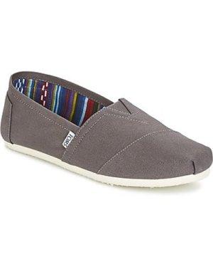 Toms  CLASSICS  men's Slip-ons (Shoes) in Grey