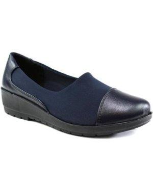 Confort  Women's Comfort Slip On Shoe  women's Shoes (Pumps / Ballerinas) in Blue