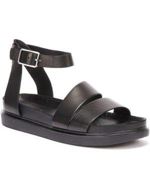 Vagabond  Erin Ankle Strap Womens Black Sandals  women's Sandals in Black