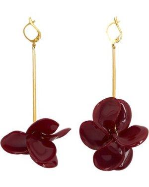 Malababa  PETALOS  women's Earrings in Red