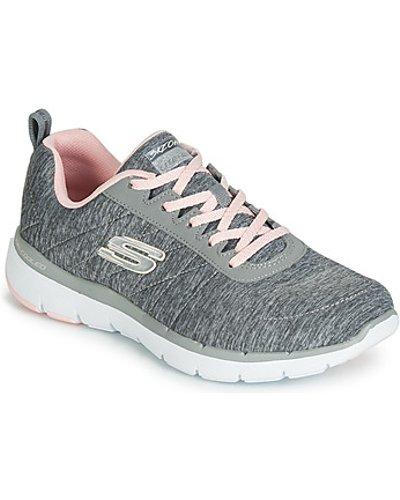 Skechers  FLEX APPEAL 3.0 INSIDERS  women's Shoes (Trainers) in Grey