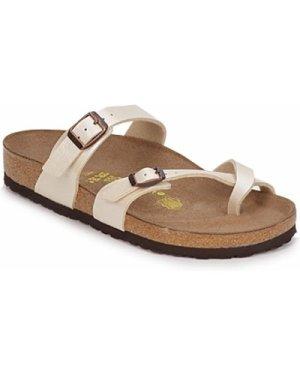 Birkenstock  MAYARI  women's Mules / Casual Shoes in White