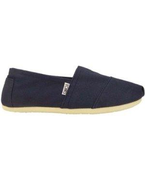 Toms  original classic  men's Espadrilles / Casual Shoes in Blue